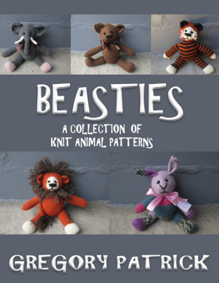 Gregory at Mad Man Knitting created the gorgeous collection of knitted beasties. If you too love knitting one of his designs would make a wonderful handmade gift. Check out more details here. Please share. You will always look forward to Mondays, with our craft inspiration roundups -CraftyLikeGranny.com #knittedtoys
