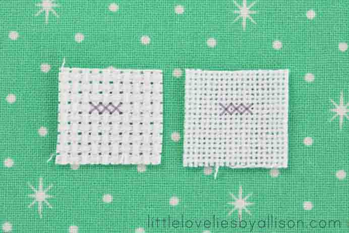How to cross stitch Little Lovelies by Allison. A very easy to understand video on how to get started with crochet and to make a chain stitch. It also has a great pictorial about all the steps too. Please share. The best in craft delivered to your inbox every Monday - CraftyLikeGranny.com #crossstitch