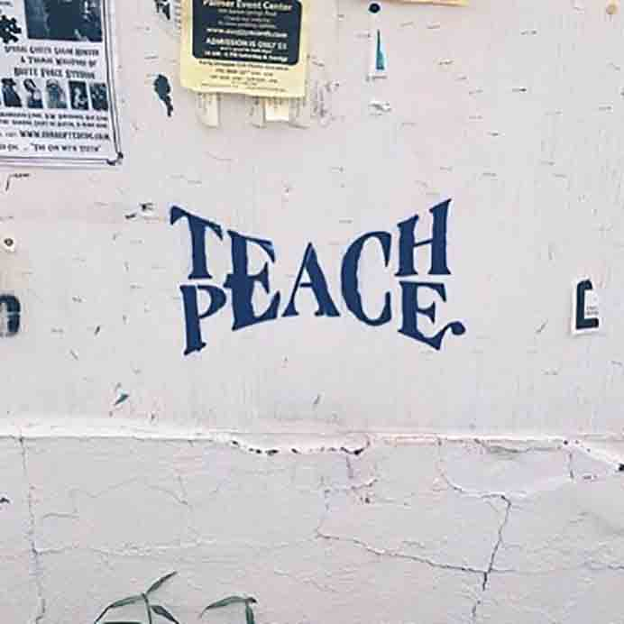 This post discusses 'cultivating a practice of peace will extend to reach others' and how can we as knitters teach/spread peace. Worth a read. Please share and make Mondays fun, get our craft inspiration delivered to your inbox - CraftyLikeGranny.com #knitting