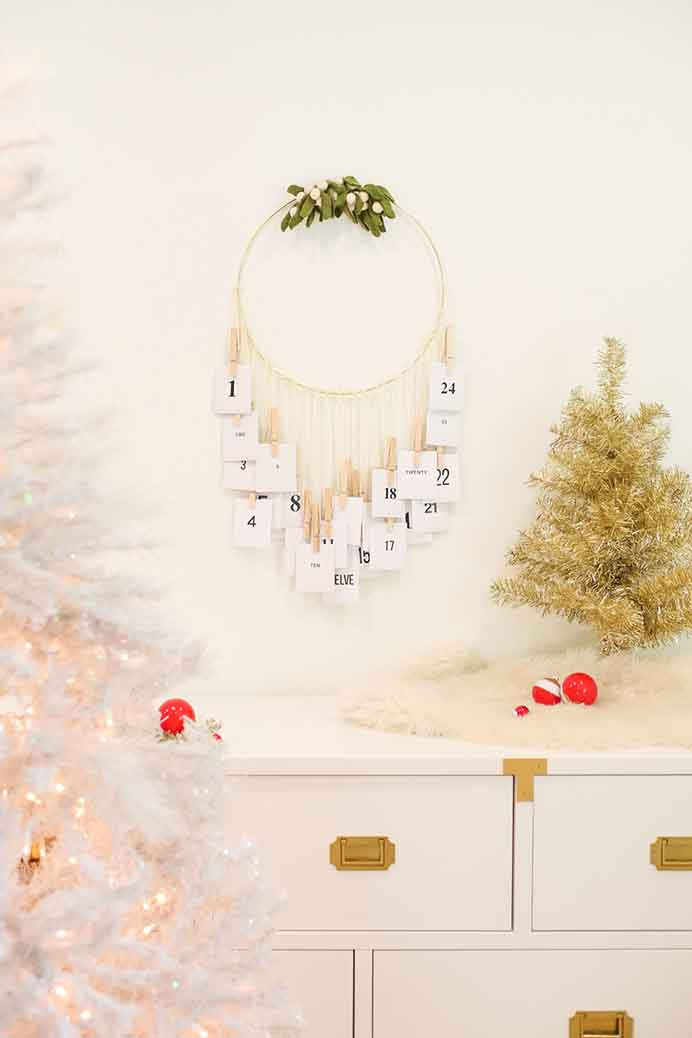 What a fabulous idea for an Advent Calendar. Instead of treats for kids it incorporates random acts of kindness. Chelsea from Lovely Indeed has the step by step instructions for you to follow. Please share. You will always look forward to Mondays, with our craft inspiration roundups -CraftyLikeGranny.com #adventcalendars