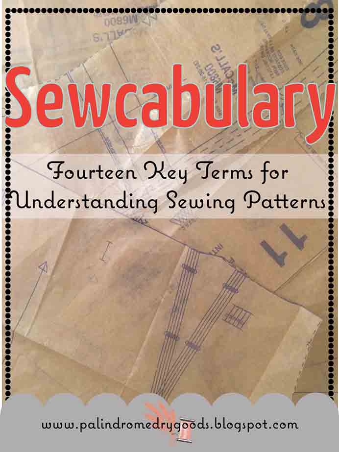 A fabulous resource for understanding sewing patterns. The Sewcabulary (don't you just love the play on words) takes the guess work out of how to read sewing patterns and with popular terms explained. Please share. Look forward to Mondays with our craft inspiration newsletter. Crafty goodness delivered to your inbox - CraftyLikeGranny.com #sewing