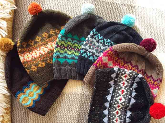 Such a lovely thing to be able to do, knit every family member a hat! Cozy Made Things shares in her post about these hats and her early Christmas. Please share. Make Mondays more manageable and sign up for our craft inspiration newsletter. Delivered to your inbox - CraftyLikeGranny.com #knittinghats