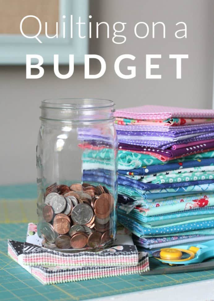 Quilting on a Budget. When it comes to buying materials for quilting it can be expensive. Here are 5 simple ways you can spend less and quilt within your budget, thanks to Allison at Cluck Cluck Sew :) Please share. Join now for creative craft inspiration. The best in craft delivered to your inbox every Monday - CraftyLikeGranny.com #Quilting