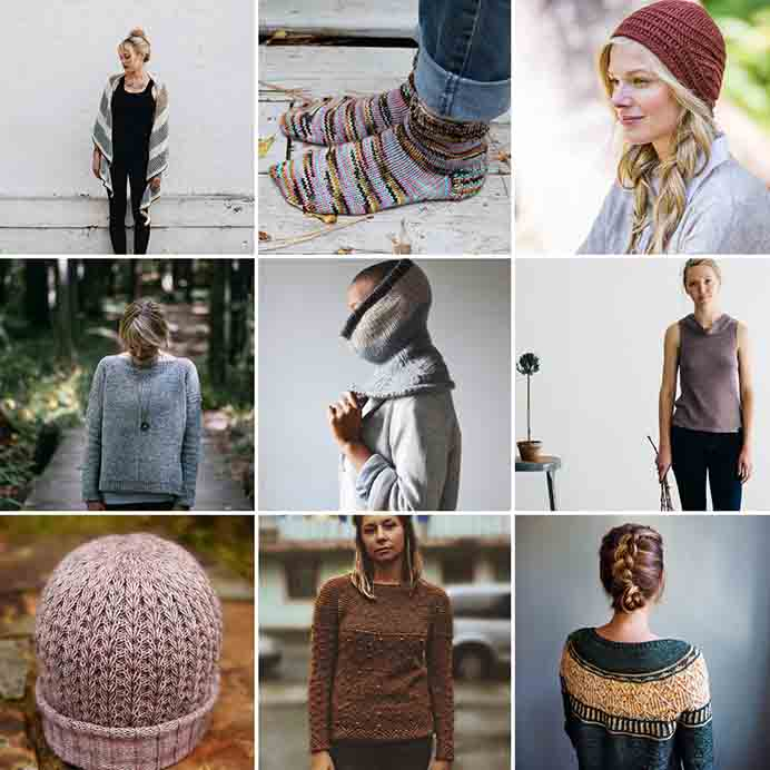 Shortrounds Knitwear #2018makenine Inspiration. Beth shares the knitting challenges she's set for herself this year. Thanks to the #2018makenine doing the rounds on instagram. Some absolutely gorgeous knitting patterns featured in her post. #knitting