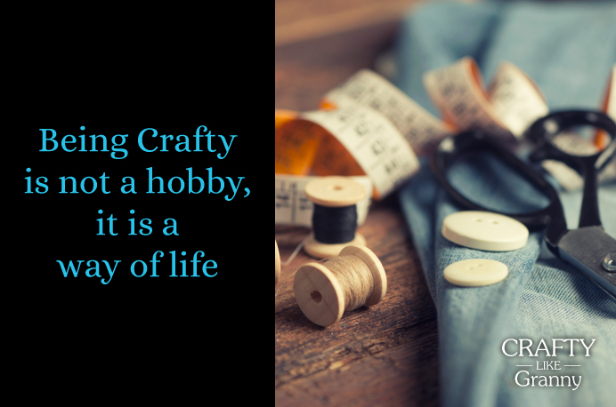 Being Crafty is not a hobby, it is a way of life. Crafting is varied and wonderful. For some people it is their life. Many people have started out with craft just as a hobby. Then it's become their way of earning a living. How fabulous that their crafting passion has lead to bigger and better things Here's your crafting inspiration for this week. Enjoy! Please share. You will always look forward to Mondays, with our craft inspiration roundups -CraftyLikeGranny.com #craft #craftideas #DIY