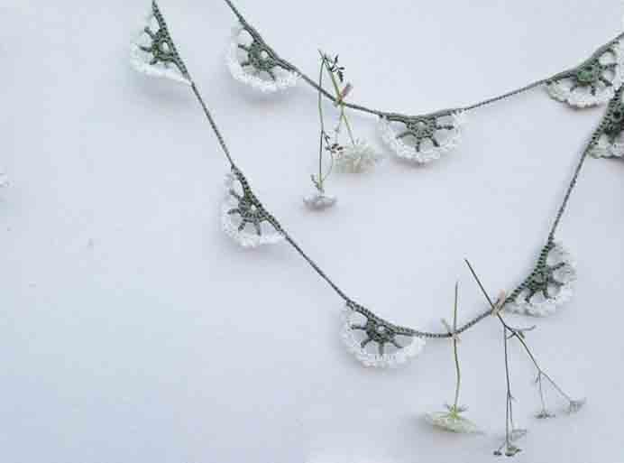 How To Crochet Cow Parsley. Emma Mitchell's inspiration from her amateur botanist experience helped her to design this lovely Crochet pattern.Please share. Make Mondays more manageable and sign up for our craft inspiration newsletter. Delivered to your inbox - CraftyLikeGranny.com #crochet