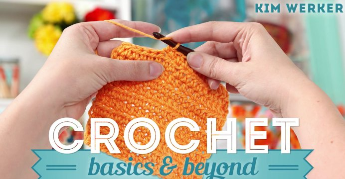 Kim Werker from Craftsy has created an online course for Crochet Basics and beyond. During the course you will learn about the tools, techniques and stitches you need to get started with crochet. Instructions for crocheting a gorgeous blanket is included. Please share and make Mondays fun, get our craft inspiration delivered to your inbox - CraftyLikeGranny.com #crochet #crocheting #craft