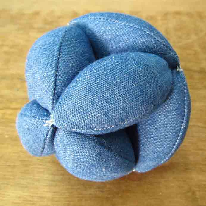 Sew An Amish Puzzle Ball. Allison Dey shows you how to sew an Amish Puzzle ball which is a great educational toy. Great for using up fabric scraps of all types, preferably woven materials. You can use felted wool, old blankets, sweaters. Stuff with wool, cotton, or other natural stuffing if you can. Please share. The best in craft delivered to your inbox every Monday - CraftyLikeGranny.com #sewing #sewinginspiration #sewingtip