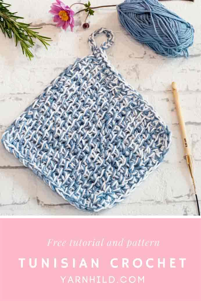 Learn How to Crochet The Tunisian Simple Stitch. Keen to learn a new crochet stitch? Tunisian crochet also known as Afghan crochet is a combination of crochet and knitting. Ragnhild from Yarnhild has information and a tutorial with lots of pictures to show you how to do it. Please share. The best in craft delivered to your inbox every Monday - CraftyLikeGranny.com #tunisiancrochet #afghancrochet #crocheting