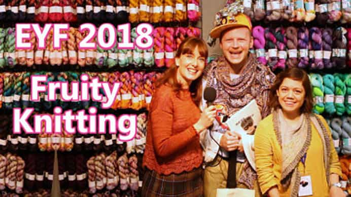 Fruity Knitting Podcast - Edinburgh Yarn Festival 2018. Andrea and Andrew share all the joy and excitement that is the Edinburgh Yarn Festival. I thoroughly enjoyed all the mini interviews,with clever designers, fiber enthusiasts, yarn dyers and suppliers of tools and accessories for the knitter. Please share. Join now for creative craft inspiration. The best in craft delivered to your inbox every Monday - CraftyLikeGranny.com #knitting #yarn #craft #DIY