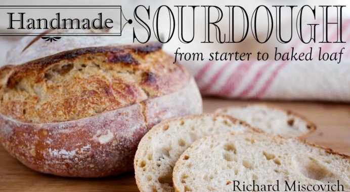 Take a class online with one of Craftsy's expert bakers. Michael will step you through how to make a sourdough starter and then prepare a baked sourdough loaf. Mmm delicious homemade bread, your friends and family will love you for making it :) Please share and make Mondays fun, get our craft inspiration delivered to your inbox - CraftyLikeGranny.com #baking #sourdough