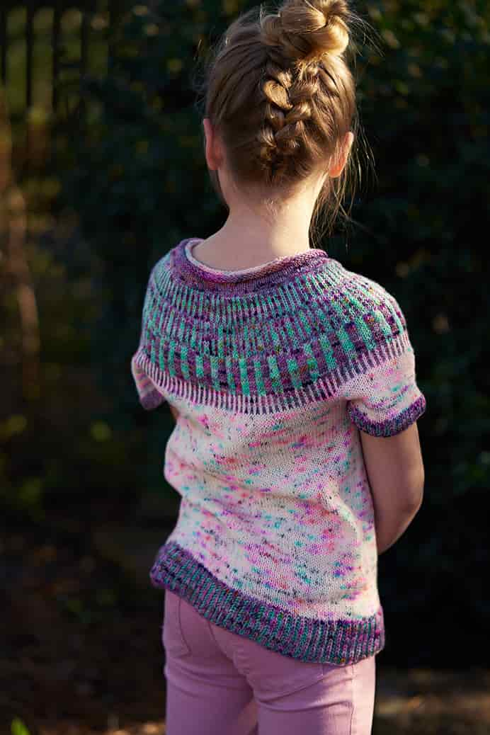 Knitsophy's Knitting Two Sleeves At A Time Tutorial. As part of the making of this gorgeous Jelly Roll Sweater, Jamie at Knitsophy Designs shows you how to knit two sleeves at the same time. What a clever technique!Please share. Join now for creative craft inspiration. The best in craft delivered to your inbox every Monday - CraftyLikeGranny.com #knitting #knitting_inspiration #knit