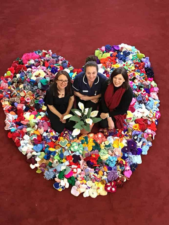 Gloucester Widow Sent 25,000 Knitted Hearts for Malvern Show Garden. What an amazing response from the wonderful knitting community around the world! This is just makes your heart fill with gratitude. Read more about Clare Young's Work Of Heart Garden at on their website. Please share. You will always look forward to Mondays, with our craft inspiration roundups -CraftyLikeGranny.com #knitting #knit #craft