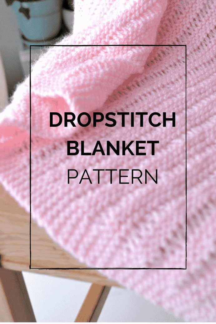 This delightful and easy to follow free knitting pattern, by Laura at Peace But Not Quiet, would make a great gift for that special baby in your life. Laura provides handy video instructions to help with the knowing how to complete the Dropstitch. #knitting #knittingpattern #freeknittingpattern