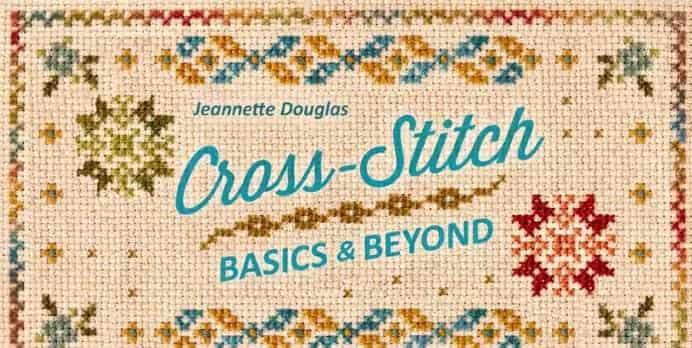 Learn the Basics and Beyond of Cross Stitch. Has Mom always wanted to learn Cross Stitch. Be guided by an expert on the basics of Cross Stitch by Craftsy Instructor Jeanette Douglas. A mighty fine cross stitcher, Jeanette steps you through the basics in the online course. Self paced and easy to follow. Please share. Make Mondays more manageable and sign up for our craft inspiration newsletter. Delivered to your inbox - CraftyLikeGranny.com #Crossstitch #Craft