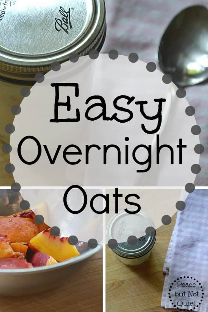 Are you always rushing in the mornings? Sometimes you'd prefer to get a few more winks than eat? Having breakfast every morning is beneficial. So getting prepared the night before makes it so much easier in the morning. Here's Laura from Peace But Not Quiet's easy option for overnight oats. Please share. Join now for creative craft inspiration. The best in craft delivered to your inbox every Monday - CraftyLikeGranny.com #recipes #recipes_to_go #cookingtips