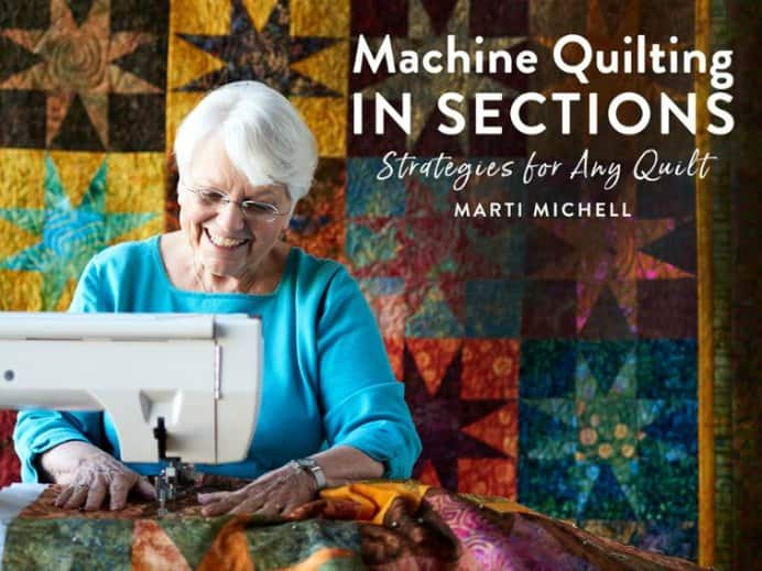 Learn from a master quilter in this Craftsy Online Course. Marti Mitchell covers the techniques of dividing the batting, not the quilt. Border techniques, Single and Twin Finishing strips, multi-layer seams and making a plan. Please share and make Mondays fun, get our craft inspiration delivered to your inbox - CraftyLikeGranny.com #quilitng #sewingtips #quiltingblocks