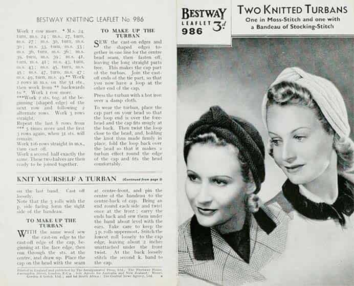 1940s Knitting Patterns. The Victoria and Albert Museum has a fascinating article on 1940s knitting patterns. Some of the designs featured, show how knitted garments provided practicality and functionality during the Second World War. Please share and make Mondays fun, get our craft inspiration delivered to your inbox - CraftyLikeGranny.com #knitting #knittingpattern #knittingstitches