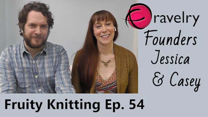 Interview with Ravelry Founders Jessica and Casey. I found Andrea's interview with Ravelry founder Jessica and Casey on the Fruity Knitting podcast, really interesting. From very secret beginnings to what Ravelry is today is quite amazing. Please share. Join now for creative craft inspiration. The best in craft delivered to your inbox every Monday - CraftyLikeGranny.com #knittingguru #knittingstitches #knitting
