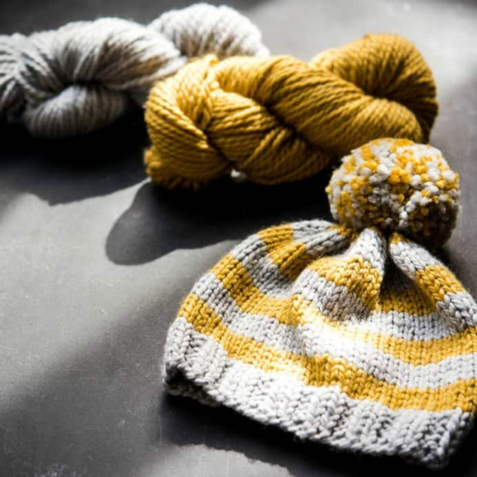 Well known knitting expert Susan B Anderson has created a knitting course for beginners. You will learn how to make three cozy accessories — a pair of hand warmers, a bulky cowl, and a pom-pom hat. Enrol in her online Craftsy class. Please share and make Mondays fun, get our craft inspiration delivered to your inbox - CraftyLikeGranny.com #knittingguru #knittingstitches #knitting