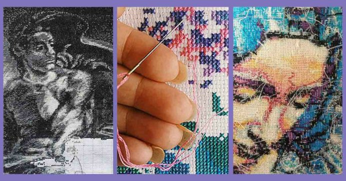 Peacock and Fig have 10 excellent tips for creating cross stitch projects. Featuring expert ideas that you might not have considered. Please share. Look forward to Mondays with our craft inspiration newsletter. Crafty goodness delivered to your inbox - CraftyLikeGranny.com #craft #crossstitch #stitching #needlecraft