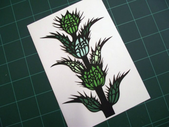 Fern from Crafterholic's interview with Zara is definitely worth a look. The pictures of Zara's hand cut paper designs are inspiring. Something I'd love to try. Please share. You will always look forward to Mondays, with our craft inspiration roundups -CraftyLikeGranny.com #papercraft #craft #diy