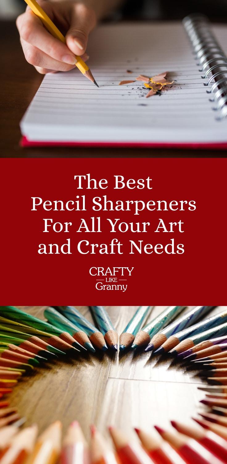 Best Pencil Sharpeners For All Your Arts and Craft Needs-min