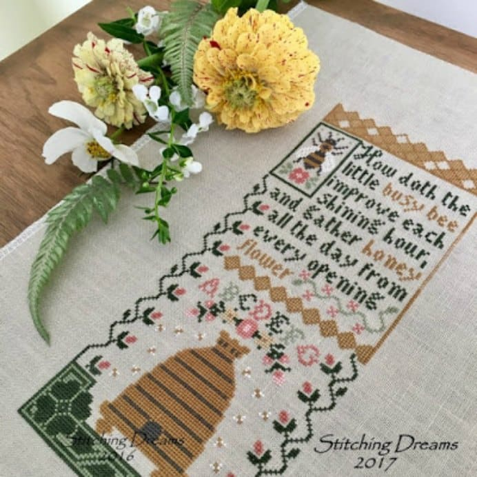 Stitching In A Dream Prairie Schooler Cross Stitch