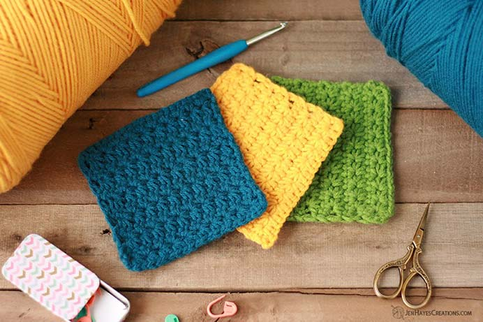 How To Crochet The Star Stitch. A versatile crochet stitch to have in your skills knowledge base. Very useful for creating table decor; placemats, coasters. Follow Jen's easy to follow tutorial on Jen Hayes Creations. Please share. The best in craft delivered to your inbox every Monday - CraftyLikeGranny.com #crochet #crochetstitch #crocheting