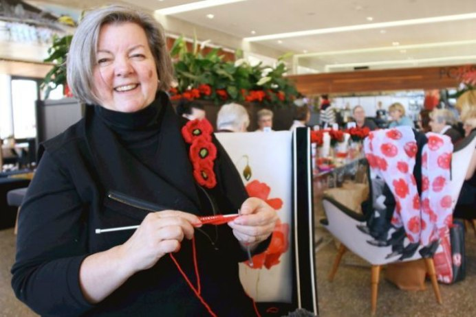 Knitting Poppies For Wall Memorial Siobhan Heanue ABC News. Please share. Sign up to our craft inspiration roundup newsletter and make Mondays more manageable. Fabulous Crafty ideas and projects delivered to your inbox - CraftyLikeGranny.com