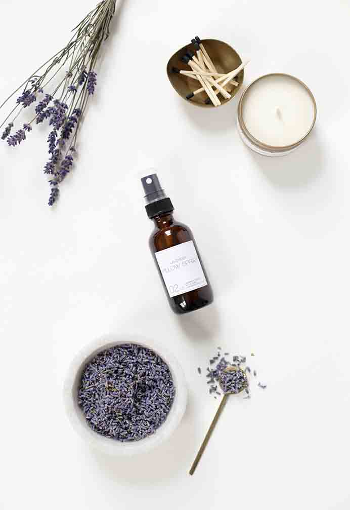 DIY Lavender Pillow Spray. Sleep better and wake refreshed to begin everyday with a well rested body, mind and soul. Create your own Lavender spray with The Merry Thought's tutorial.Please share. You will always look forward to Mondays, with our craft inspiration roundups -CraftyLikeGranny.com #essentialoils