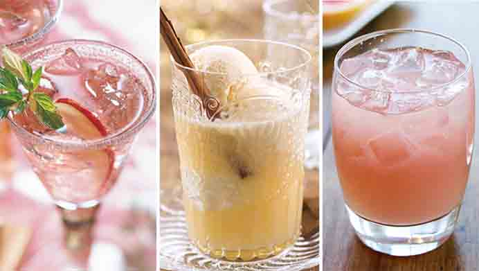 Non Alcoholic Drink Ideas for New Years Eve. A wonderful selection of drinks for getting into the party mood without the alcohol! They look so gorgeous and taste delicious! Check out the Mocktail recipes by the team at Tablespoon. Please share. Make Mondays more manageable and sign up for our craft inspiration newsletter. Delivered to your inbox - CraftyLikeGranny.com #newyearparty