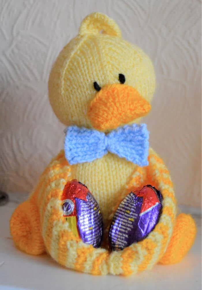 Ducky Egg Chocolate Egg Holder by Etsy