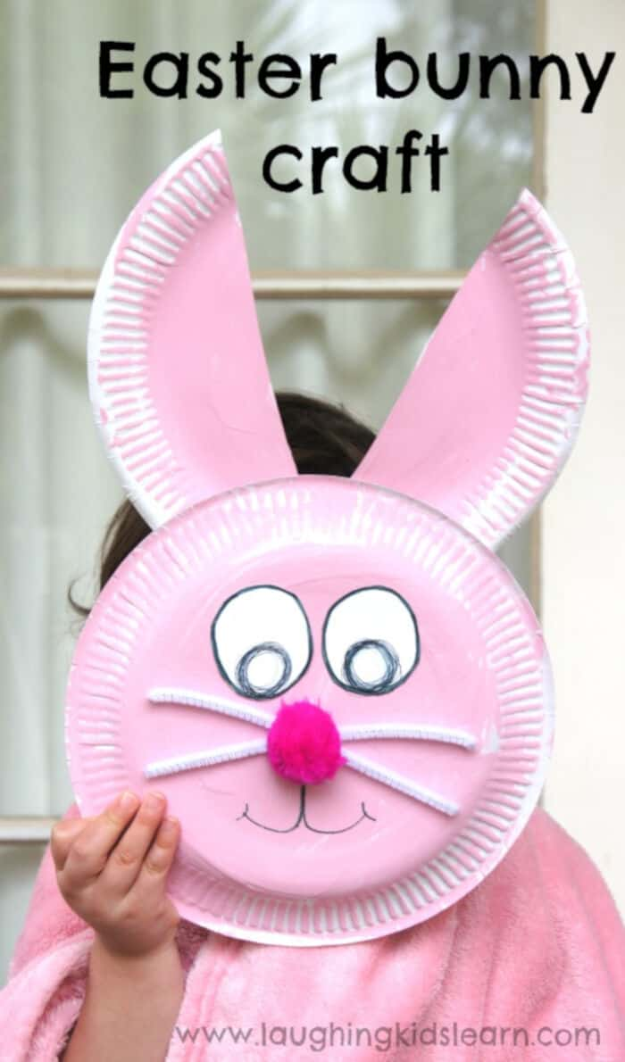 Easter Bunny Craft by Laughing Kids Learn