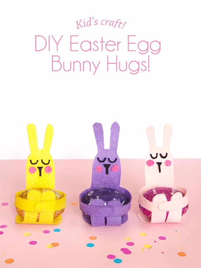 Easter Egg Bunny Hugs by Paper and Pin