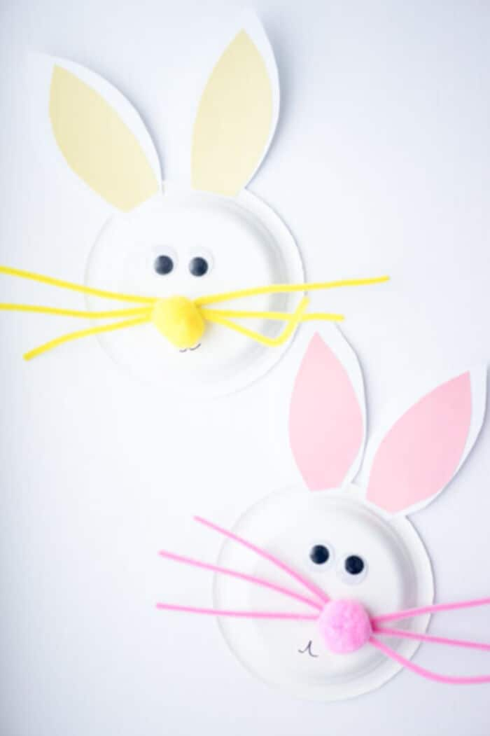 Easter Paper Plate Craft by The Best Ideas For Kids