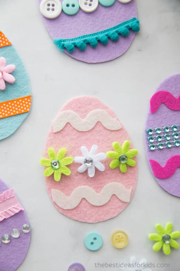 Felt Easter Eggs by The Best Ideas For Kids