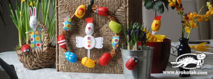 Five Spring Ideas from Plastic Spoons by Krokotak