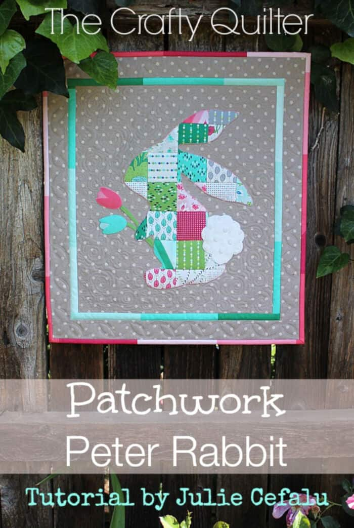 Patchwork Peter Rabbit by The Crafty Quilter