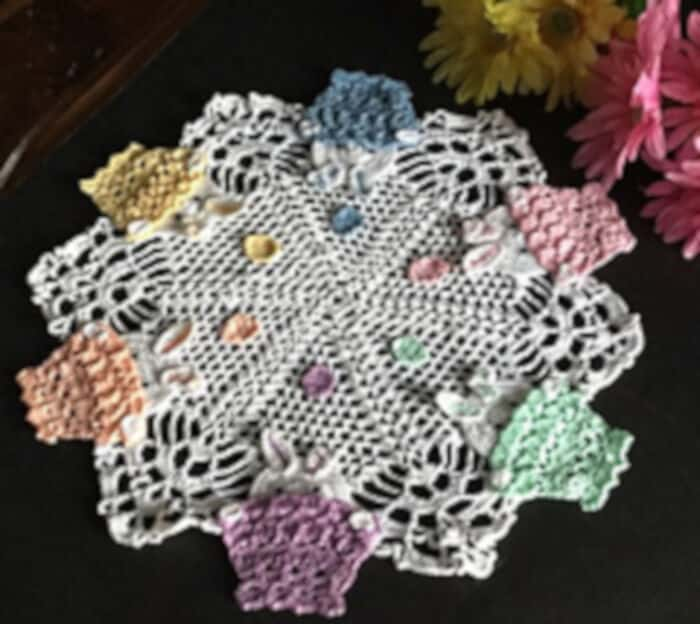 Peek A Boo Bunny Easter Doily by Ravelry