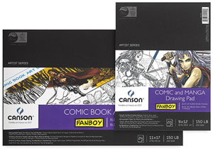 Canson Fanboy Comic and Manga Papers