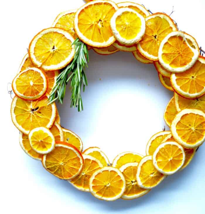 Dried Citrus Wreath by Twine and Table