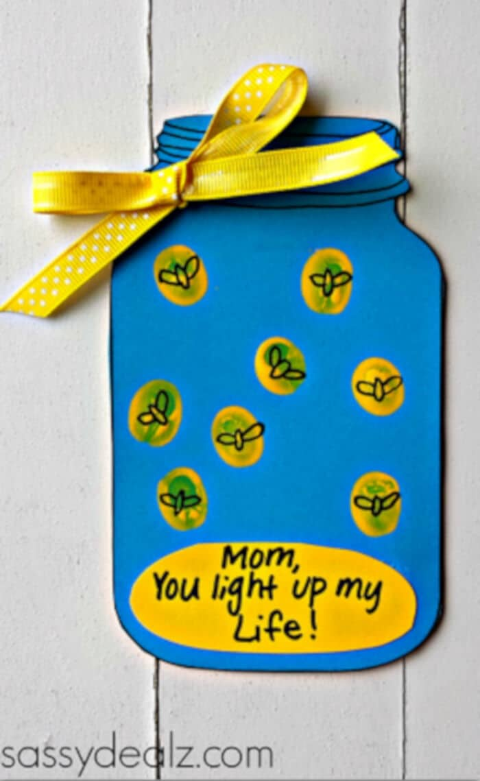 Firefly You Light up my Life Mother's Day Card by Crafty Morning