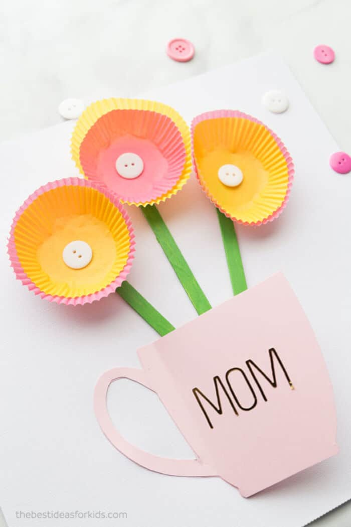 Handmade Mothers Day Card by The Best Ideas For Kids