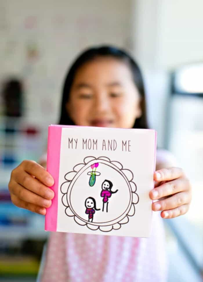 Kid-Made Free Printable Mothers Day Book by Hello Wonderful