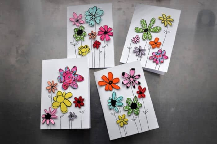 Paper Scraps Greeting Cards by Mama is dreaming