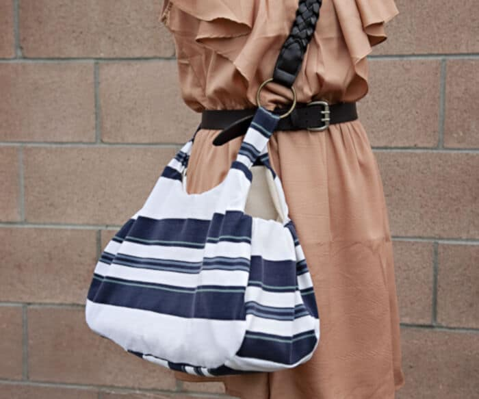 Up-cycle An Old Polo Shirt Into a Stylish New Bag by Fab You Bliss