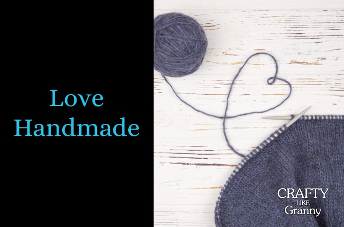 I Love Handmade and I am sure you do too! As part of the crafting community, you get a sense of the sheer talent that's out there. I love finding fabulous craft projects for you. I hope you enjoy this week's crafty goodness. Please share. You will always look forward to Mondays, with our craft inspiration roundups -CraftyLikeGranny.com #knitting #quilting #craft #DIY #sewing