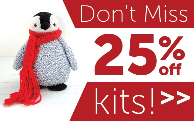 Lion Brand 25% Off Kits