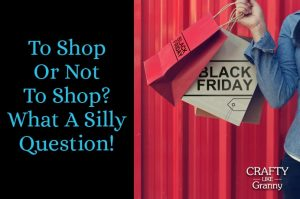 To Shop Or Not To Shop What A Silly Question